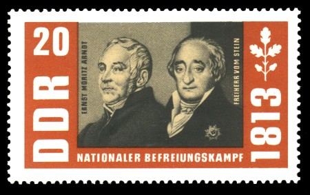 20 Pf Briefmarke: Nationaler Befreiungskampf 1813