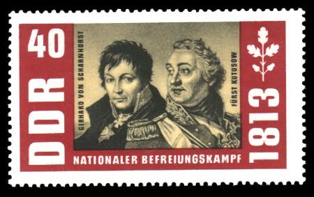 40 Pf Briefmarke: Nationaler Befreiungskampf 1813