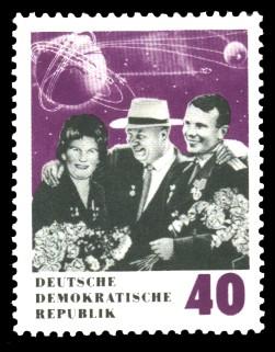 40 Pf Briefmarke: 70. Geburtstag N. S. Chruschtschow