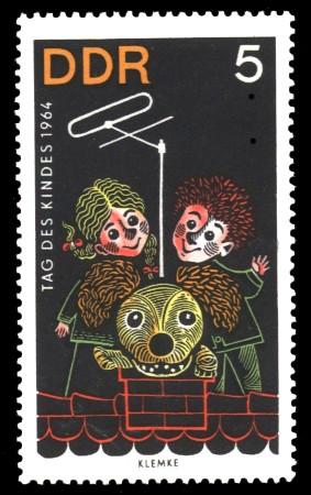 5 Pf Briefmarke: Tag des Kindes 1964