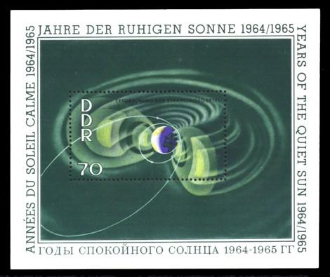 Briefmarke: Block - Jahre der ruhigen Sonne 70Pf