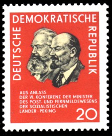 20 Pf Briefmarke: OSS-Konferenz