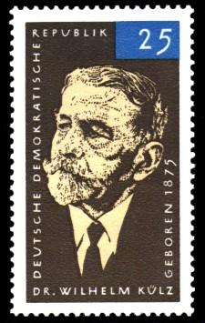 25 Pf Briefmarke: Wilhelm Külz