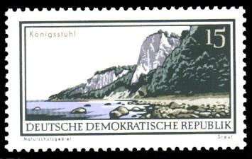 15 Pf Briefmarke: Natur- und Landschaftsschutzgebiete