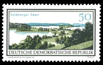 50 Pf Briefmarke: Natur- und Landschaftsschutzgebiete