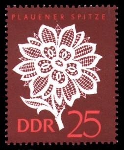 25 Pf Briefmarke: Plauener Spitze