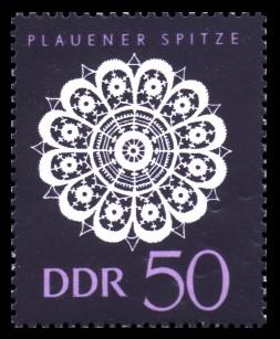 50 Pf Briefmarke: Plauener Spitze