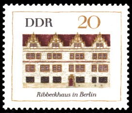 20 Pf Briefmarke: Bedeutende Bauten, Ribbeckhaus Berlin