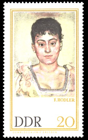 20 Pf Briefmarke: Gemäldegalerie Dresden