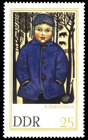 25 Pf Briefmarke: Gemäldegalerie Dresden