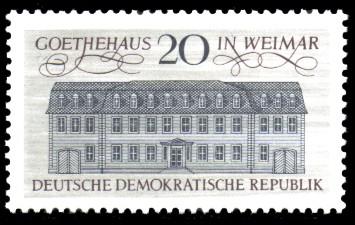 20 Pf Briefmarke: Stätten des klassischen Humanismus, Goethehaus