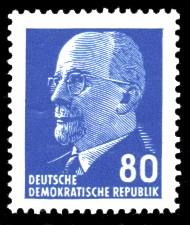 80 Pf Briefmarke: Walter Ulbricht