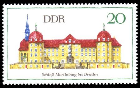 20 Pf Briefmarke: Bedeutende Bauwerke