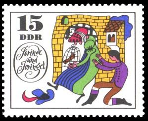 15 Pf Briefmarke: Märchen Jorinde und Joringel