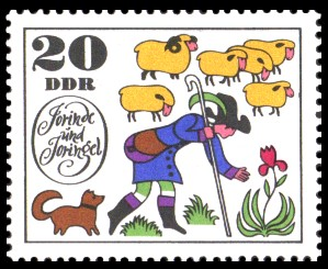 20 Pf Briefmarke: Märchen Jorinde und Joringel