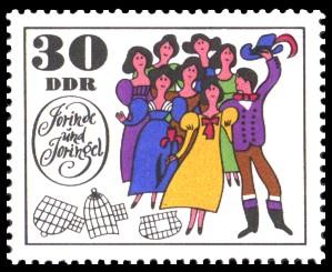30 Pf Briefmarke: Märchen Jorinde und Joringel