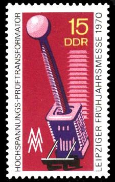 15 Pf Briefmarke: Leipziger Frühjahrsmesse 1970