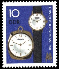 10 Pf Briefmarke: Leipziger Herbstmesse 1970