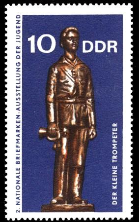 10 Pf Briefmarke: 2. Nationale Briefmarkenausstellung der Jugend