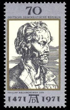 70 Pf Briefmarke: 500. Geburtstag Albrecht Dürer