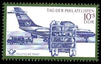 10 + 5 Pf Briefmarke: Tag der Philatelisten