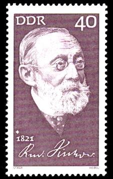 40 Pf Briefmarke: 150. Geburtstag Rudolf Virchow