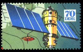 70 Pf Briefmarke: Internationale Meteorologenversammlung Leipzig