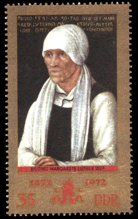 35 Pf Briefmarke: 500. Geburtstag Lucas Cranach