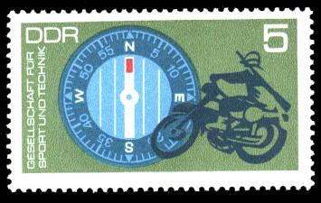 5 Pf Briefmarke: GST