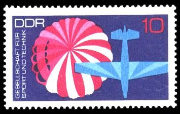 10 Pf Briefmarke: GST
