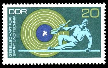 20 Pf Briefmarke: GST