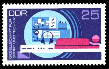 25 Pf Briefmarke: GST