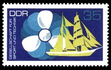 35 Pf Briefmarke: GST