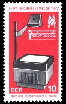 10 Pf Briefmarke: Leipziger Herbstmesse 1972