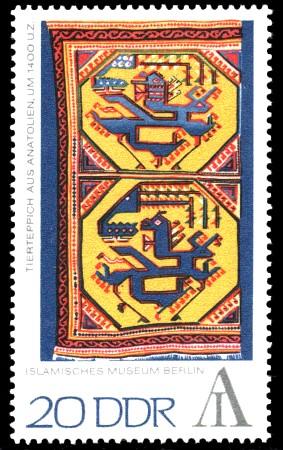 20 Pf Briefmarke: Interartes - Briefmarkenausstellung