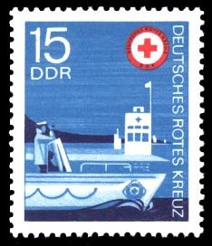 15 Pf Briefmarke: Deutsches Rotes Kreuz