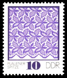 10 Pf Briefmarke: Plauener Spitze