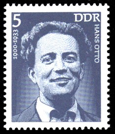 5 Pf Briefmarke: Bedeutende Persönlichkeiten, Hans Otto