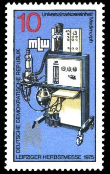 10 Pf Briefmarke: Leipziger Herbstmesse, Medimorph