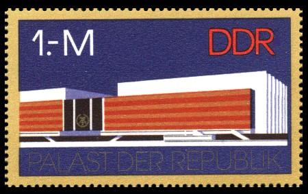 1 M Briefmarke: IX. Parteitag der SED