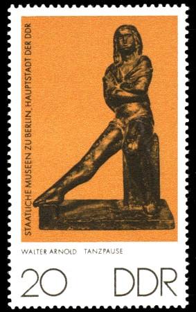 20 Pf Briefmarke: Staatliche Museen zu Berlin, Tanzpause
