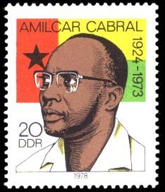 20 Pf Briefmarke: Zum Gedenken an Amilcar Cabral