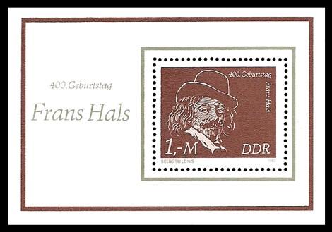 Briefmarke: Block - 400. Geburtstag Frans Hals