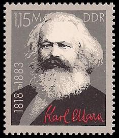 1,15 M Briefmarke: Karl-Marx-Jahr 1983