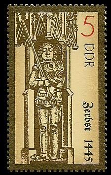 5 Pf Briefmarke: Rolande, Zerbst