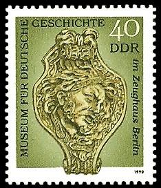 40 Pf Briefmarke: Museum für Deutsche Geschichte im Zeughaus Berlin