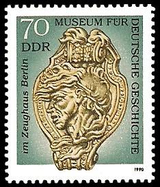 70 Pf Briefmarke: Museum für Deutsche Geschichte im Zeughaus Berlin