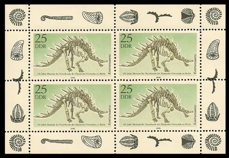 Briefmarke: Kleinbogen - 100 Jahre Museum für Naturkunde