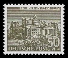 50 Pf Briefmarke: Berliner Bauten