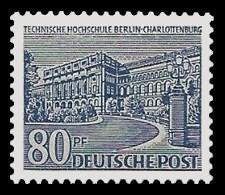 80 Pf Briefmarke: Berliner Bauten